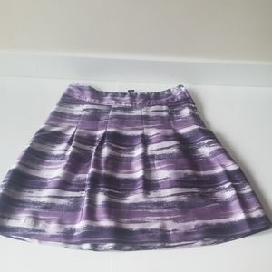 5/$25 H&M circle skirt purple size 4